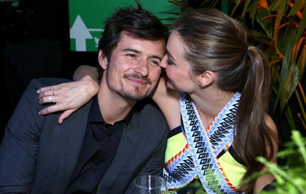 Orlando Bloom i Miranda Kerr znów są sobie bliscy! /Alexandra Wyman /Getty Images