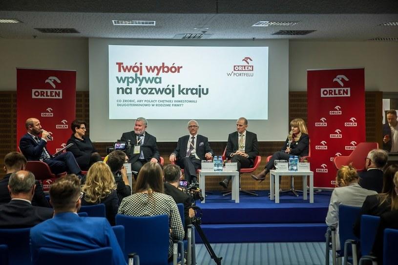 Orlen chce wesprzeć polską giełdę /Ireneusz Rek /INTERIA.PL