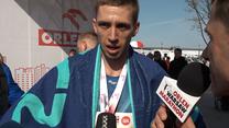 Orlen Warsaw Marathon. Grycko po biegu na 10 km. Wideo