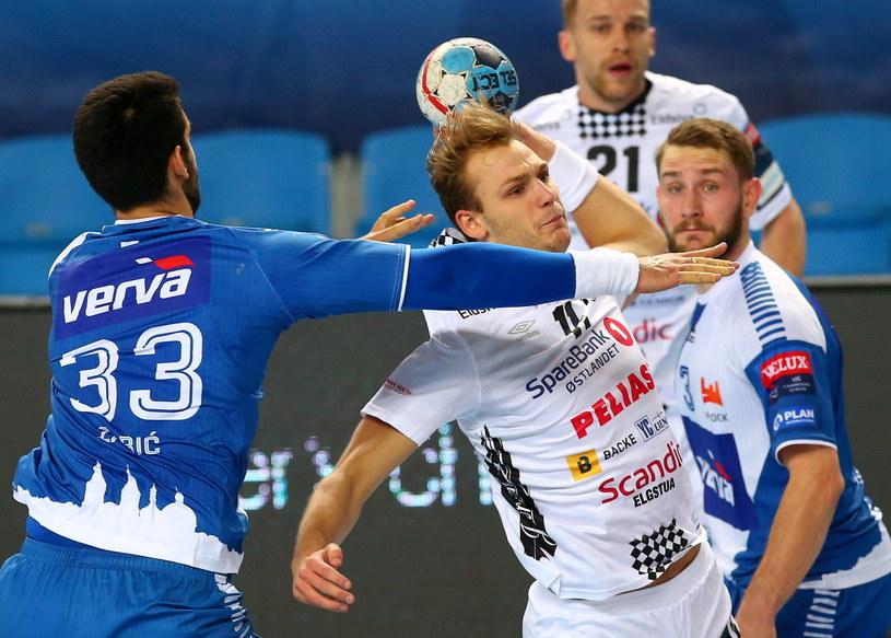 Orlen Wisła Płock - Elverum Handball /PAP/Marcin Bednarski  /PAP