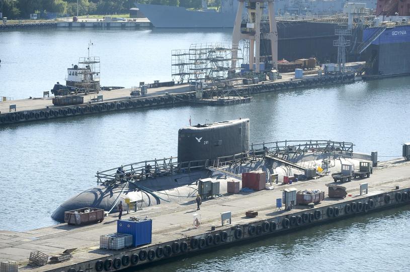 """ORP """"Orzeł"""" jest najmłodszym okrętem podwodnym polskiej floty. Wszedł do służby w 1986 roku /Wojciech Stróżyk /East News"""