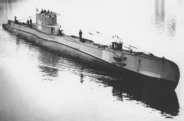 """ORP """"Orzeł"""" w Anglii, 1940 fot. Reprodukcja: FoKa /Agencja FORUM"""