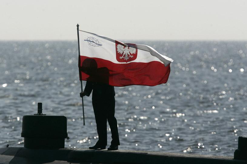 """ORP """"Sokół"""", po tym jak po raz ostatni zatrzepotała nad nim polska bandera, stanie się obiektem muzealnym /Lukasz Glowala / Forum /Agencja FORUM"""