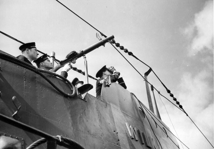 """ORP """"Wilk"""" w Wielkiej Brytanii w 1940 roku /domena publiczna"""