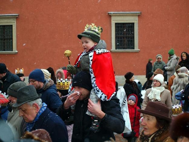 Orszak Trzech Króli na warszawskiej Starówce, fot. K. Wodecka /East News