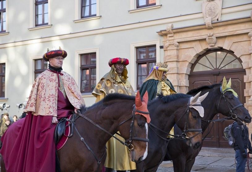 Orszak Trzech Króli we Wrocławiu w 2014 roku /Leszek Kotarba  /East News