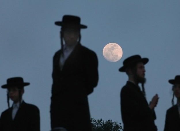Ortodoksyjni żydzi podczas przygotowań do święta Pesach /Getty Images/Flash Press Media