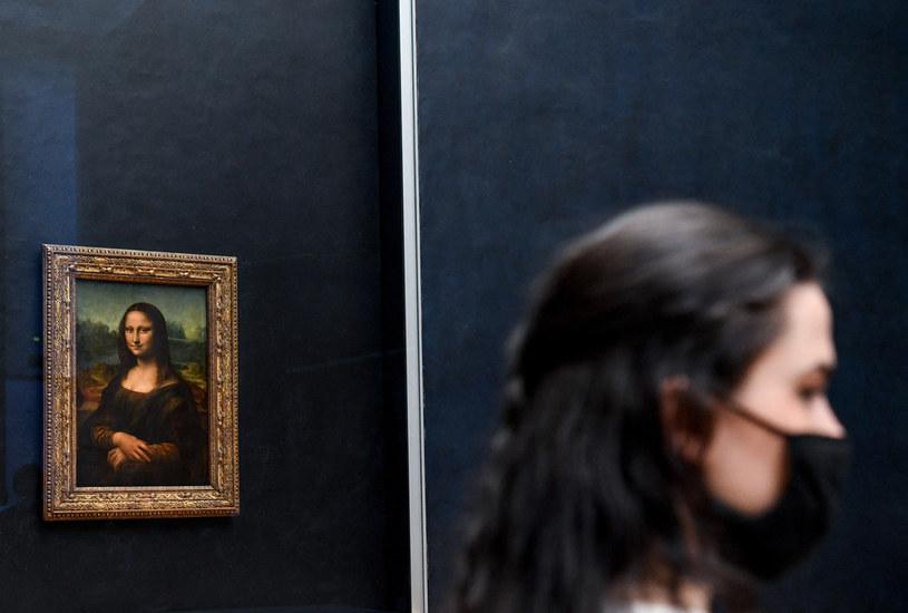 Oryginalna Mona Lisa w Luwrze /ALAIN JOCARD / AFP /AFP