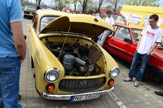 Oryginalna Syrena była napędzana silnikiem od motopompy / Fot: Mariusz Gaczyński /East News
