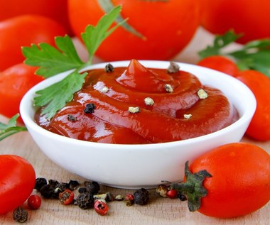 Oryginalne właściwości ketchupu