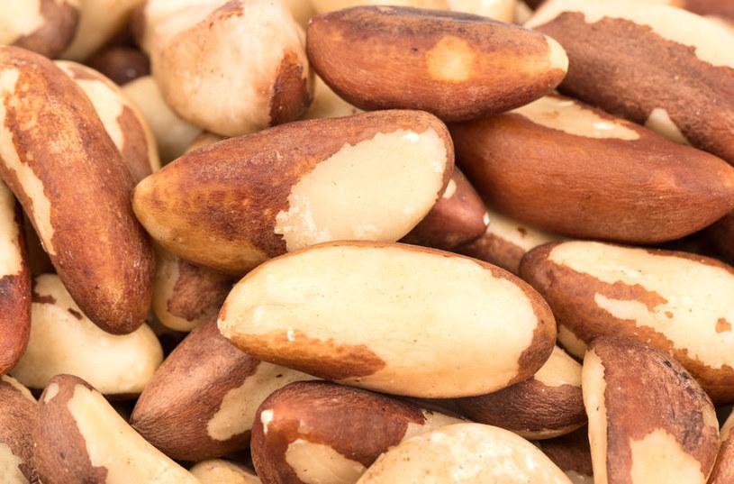 Orzechy brazylijskie są źródłem selenu, który w nadmiarze może być bardzo szkodliwy /123RF/PICSEL