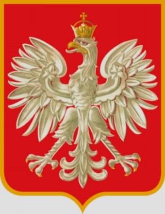 Orzeł Rządu RP na uchodźctwie: koronę zwieńczono i dodano do niej krzyż /Archiwum
