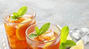 Orzeźwiająca herbata z miętą i cytrusami
