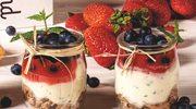 Orzeźwiający deser z kremem mascarpone