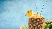 Orzeźwiający sorbet ananasowy