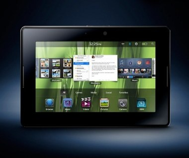 OS 2.1 dla tabletu BlackBerry PlayBook