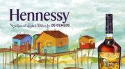 Os Gemeos projektują dla Hennessy