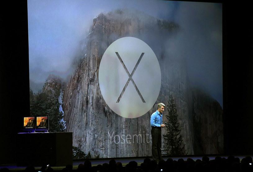 OS X 10.10 Yosemite /AFP