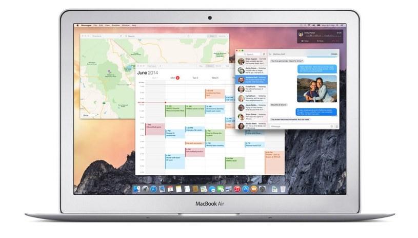 OS X 10.10 Yosemite /materiały prasowe