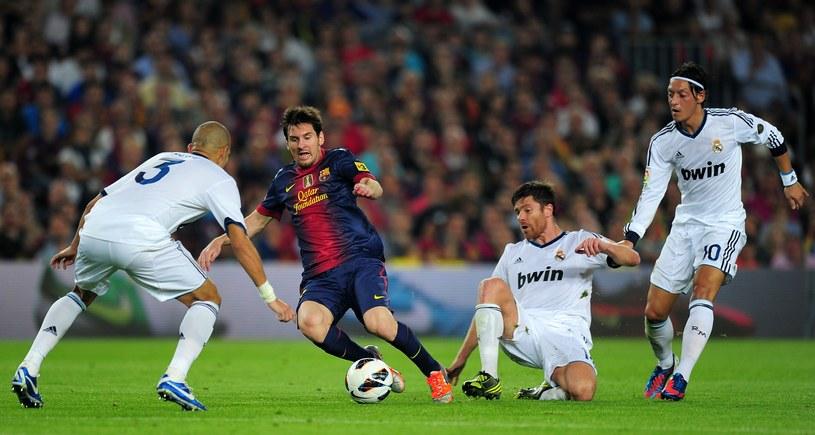 Osamotniony w ataku Barcelony Messi to za mało na pokonanie Realu /AFP