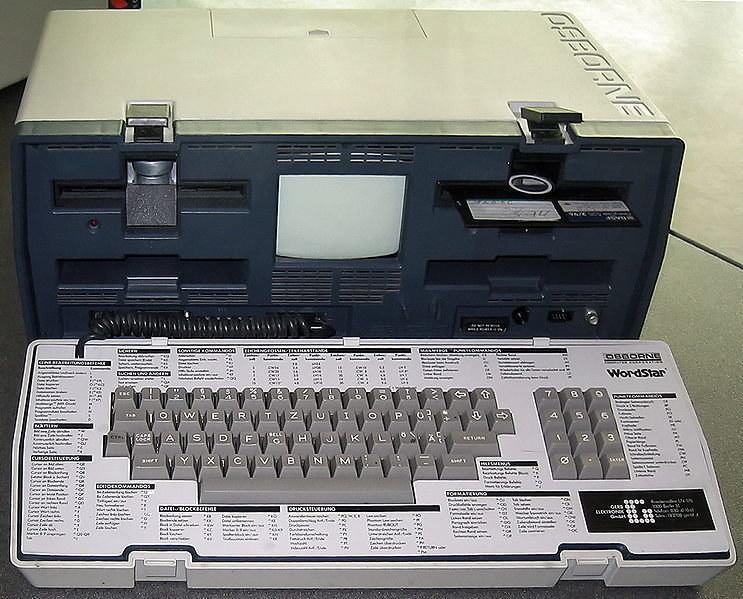 Osborne 1 - pierwszy przenośny komputer /materiały prasowe