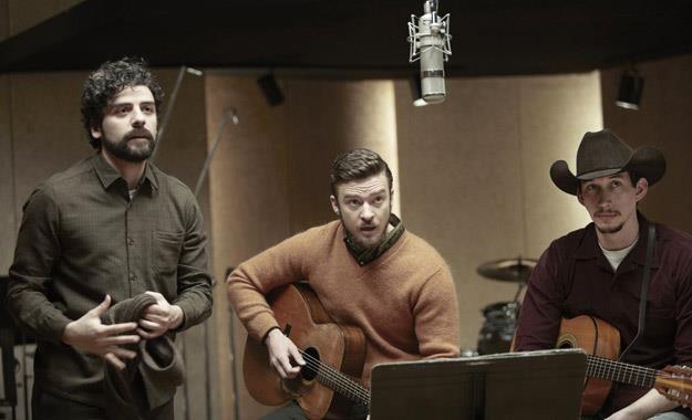 """Oscar Isaac, Justin Timberlake i Adam Driver w filmie """"Co jest grane, Davis?"""" /materiały dystrybutora"""