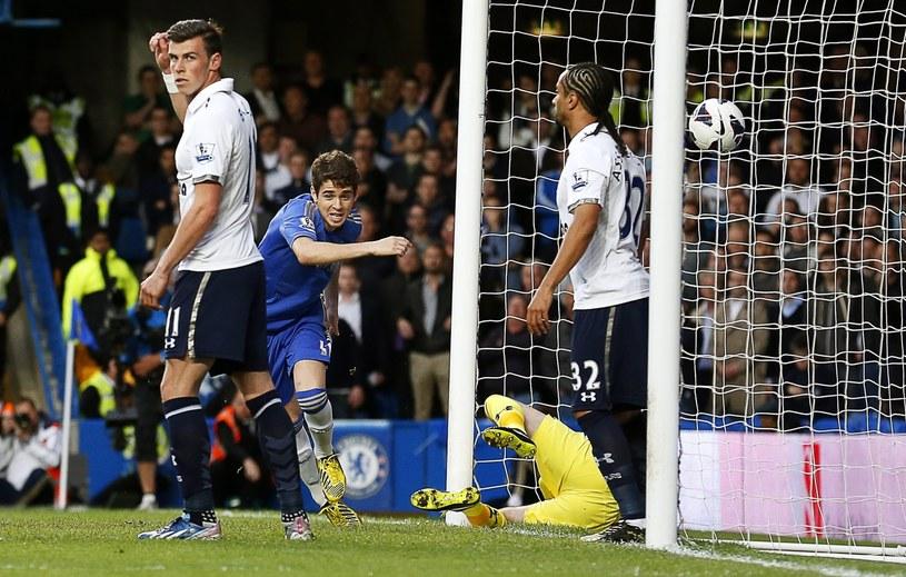 Oscar otworzył wynik meczu Chelsea - Tottenham /PAP/EPA