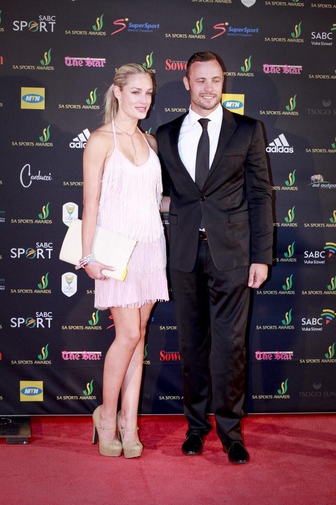 Oscar Pistorius i Reeva Steenkamp /East News