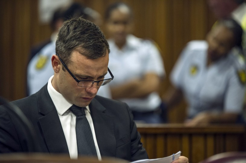 Oscar Pistorius przed sądem w Pretorii /AFP