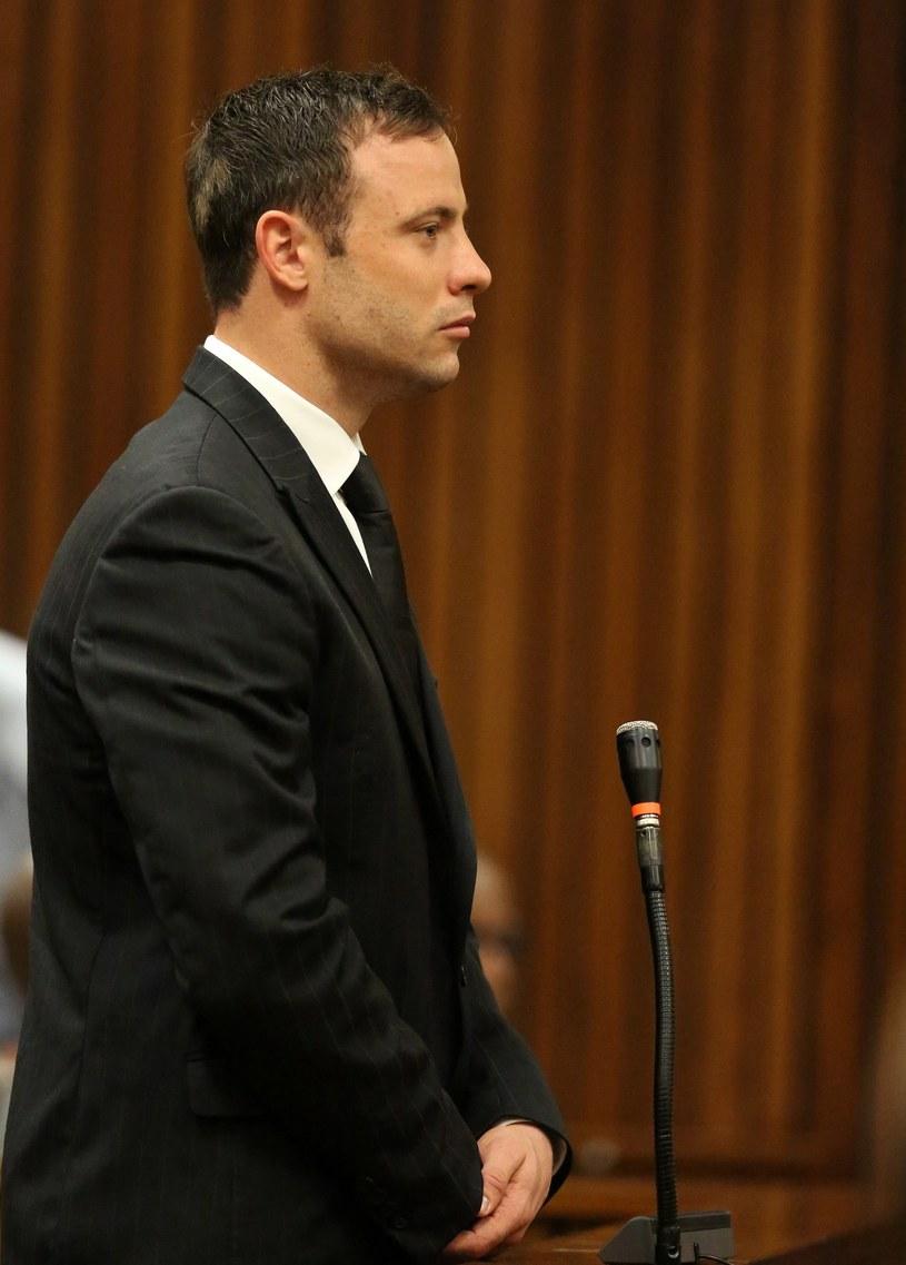 Oscar Pistorius w sądzie w Pretorii /AFP