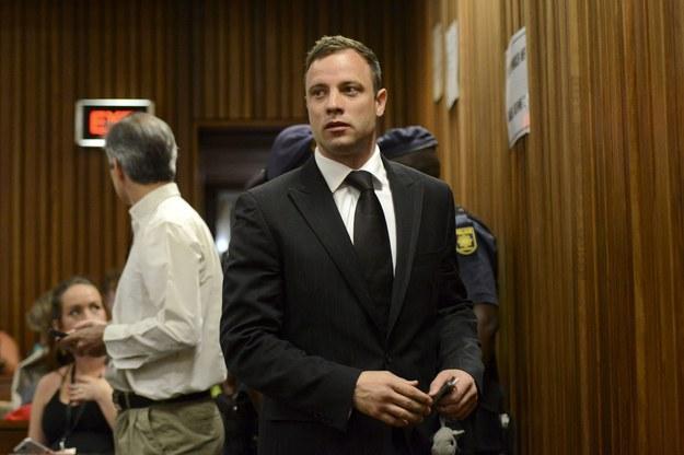 Oscar Pistorius w sądzie /HERMAN VERWEY/POOL /PAP/EPA