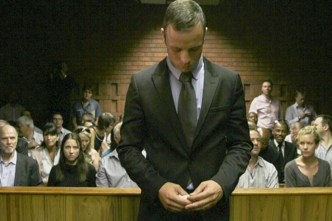 Oscar Pistorius /PAP/EPA