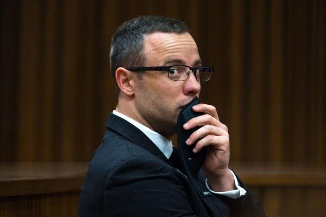 Oscar Pistorius /Daniel Born /PAP/EPA