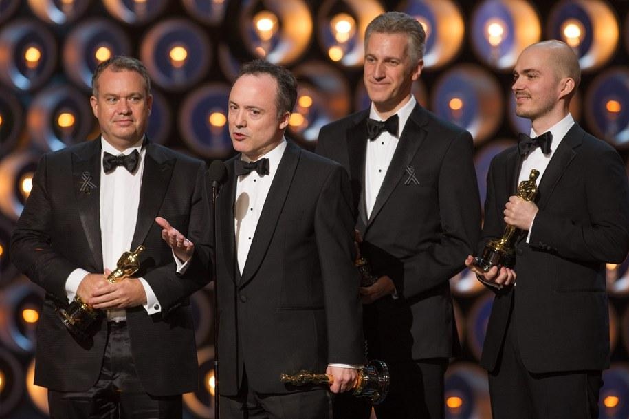 Oscar za efekty specjalne dla Grawitacji /Michael Yada /PAP/EPA