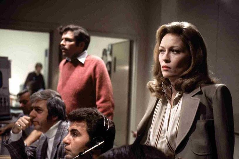"""Oscarowa rola w filmie """"Sieć"""" (1976) /materiały dystrybutora"""