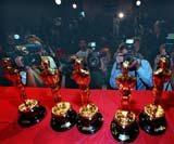 Oscary fotografowane przez hollywoodzkich fotoreporterów /EPA