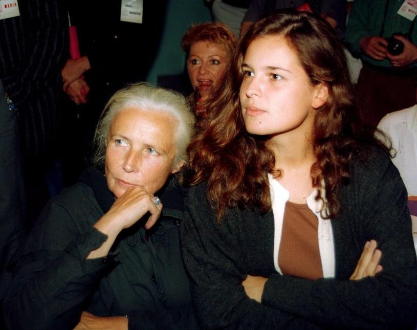 Osiecka z córką, Agatą Passent /Mieczyslaw Wlodarski/Reporter /East News