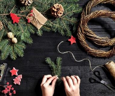Osiem prostych świątecznych ozdób DIY