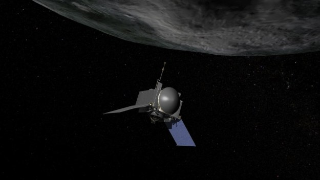 OSIRIS-Rex - wizualizacja /NASA