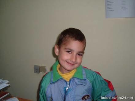 Oskar jest wesołym chłopcem/fot. WFP /Zgorzelec24.net