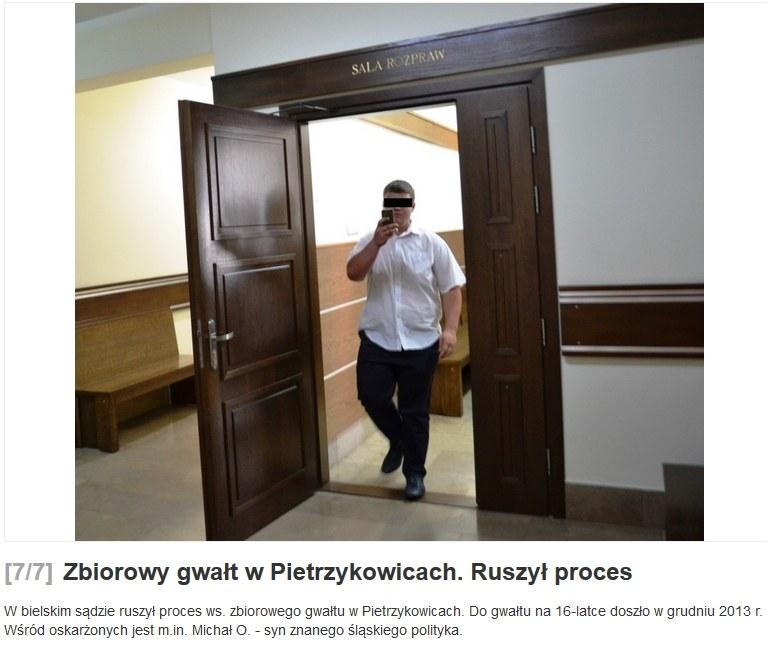 Oskarżeni pojawili się wczoraj w sądzie, źródło: zywiec.naszemiasto.pl /