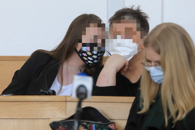 Oskarżone aktywistki /Szymon Łabiński /PAP