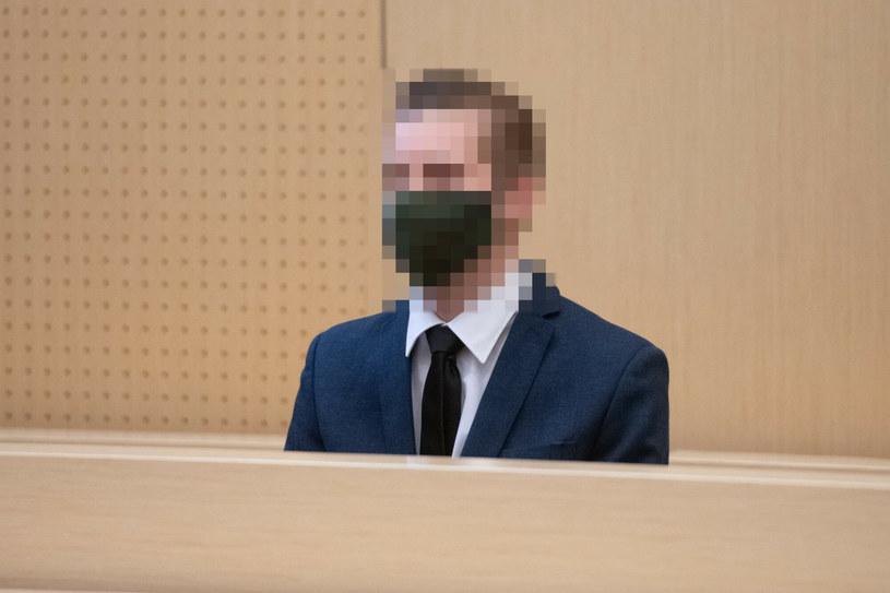 Oskarżony Adam Z. w sądzie /LUKASZ GDAK/POLSKA PRESS /East News