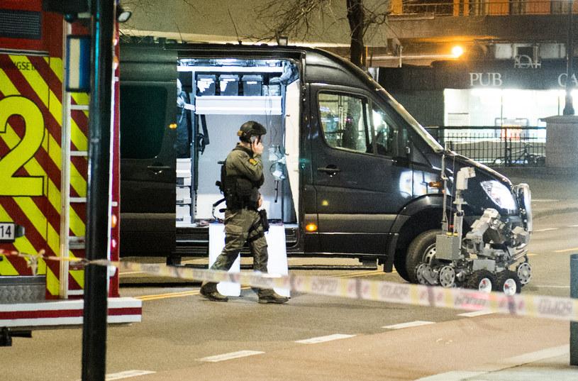 Oslo: Akcja norweskiej policji /AFP