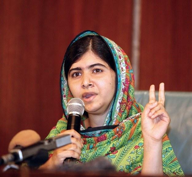 Ośmiu skazanych za atak na Malalę w tajemnicy uniewinniono /AFP