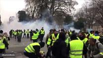 """Ósmy tydzień protestów """"Żółtych Kamizelek"""""""