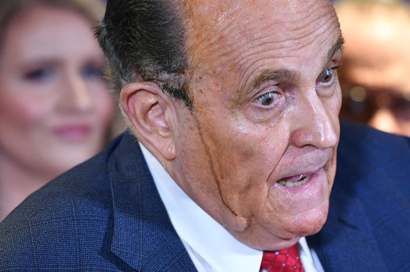 Osobisty prawnik Donalda Trumpa Rudy Giuliani /AFP