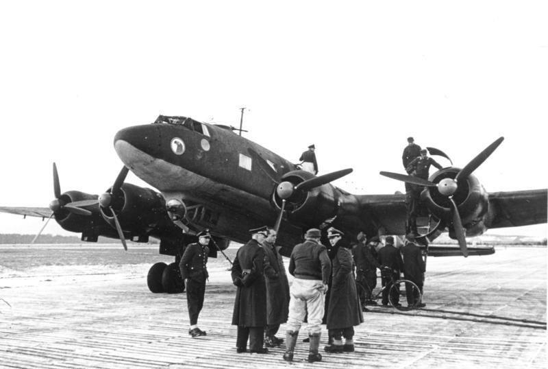 Osobisty samolot Fw-200 Adolfa Hitlera, którym wracał ze Smoleńska /Bundesarchiv/CC-BY-SA 3.0 /domena publiczna