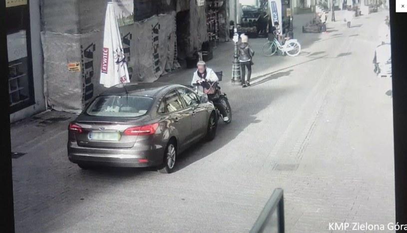Osobliwa kolizja w Zielonej Górze /Policja