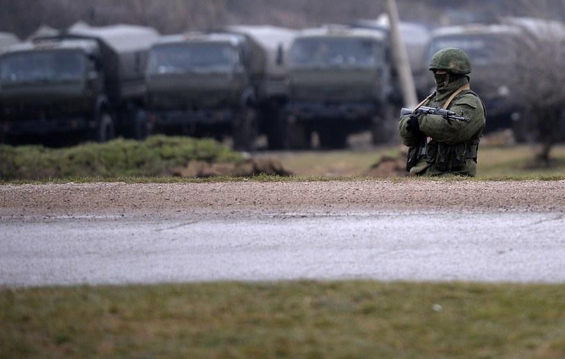 Osoby figurujące na liście dowiedzą się o tym, gdy będą przekraczać rosyjską granicę /AFP